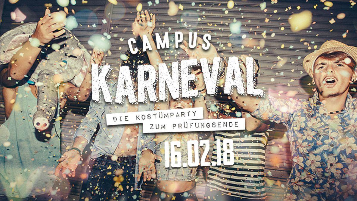 Campus Karneval - Kostümparty zum Prüfungsende