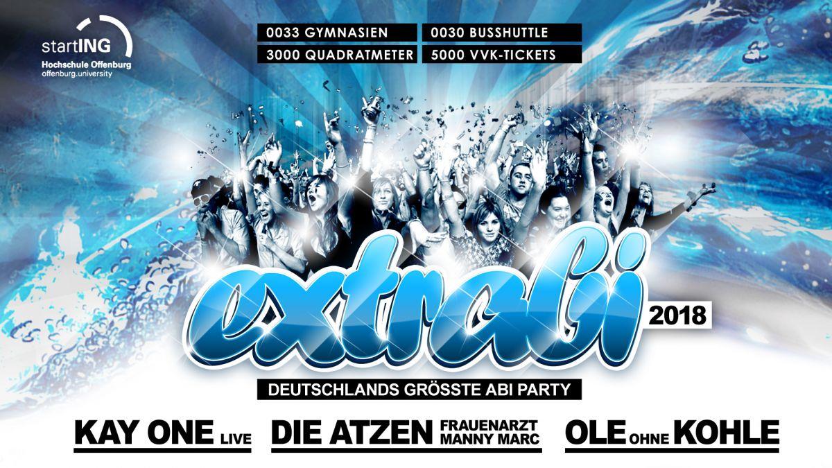 Extrabi 2018 - Deutschlands größte Abi- Party