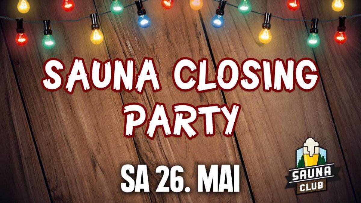 Sauna Closing
