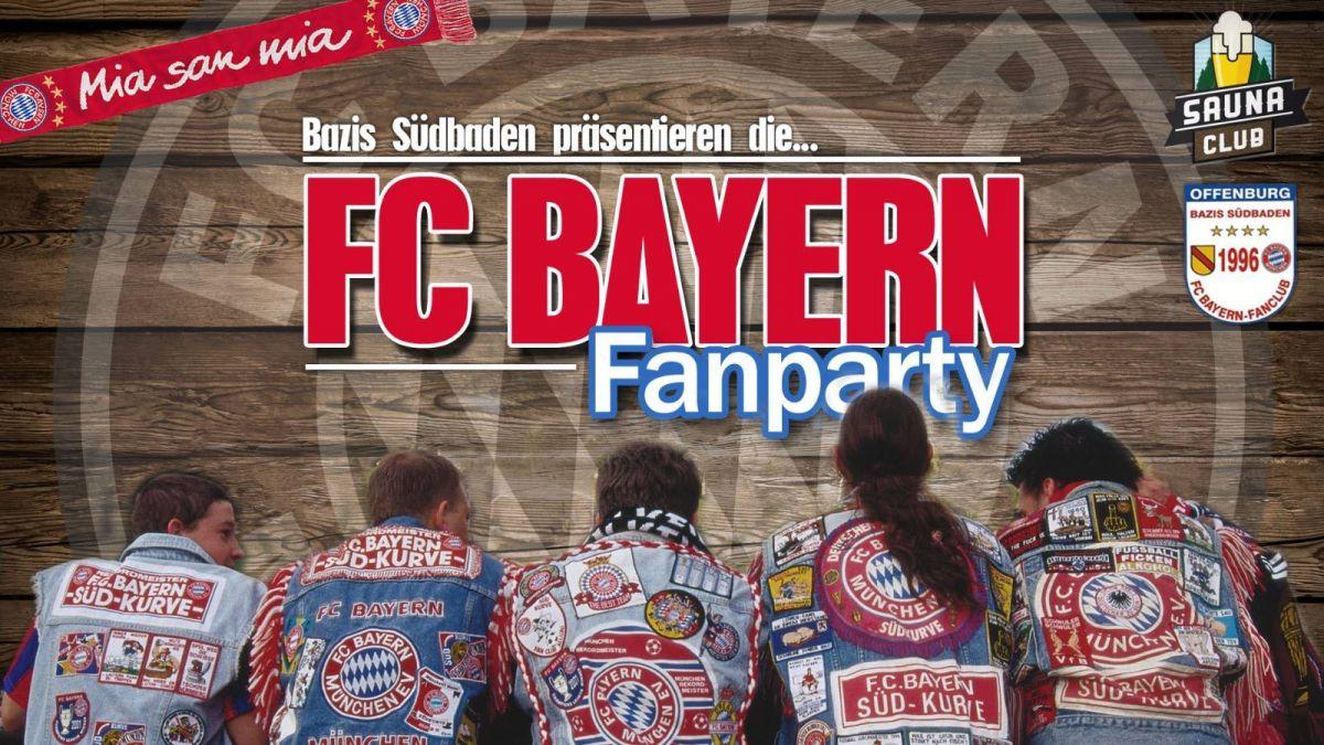 Die FC Bayern Fanparty
