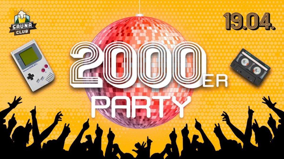 2000er Party @Sauna Club