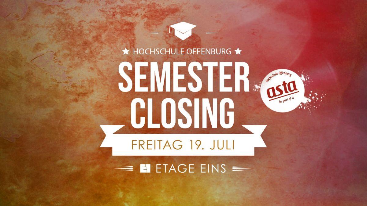 Semester Closing