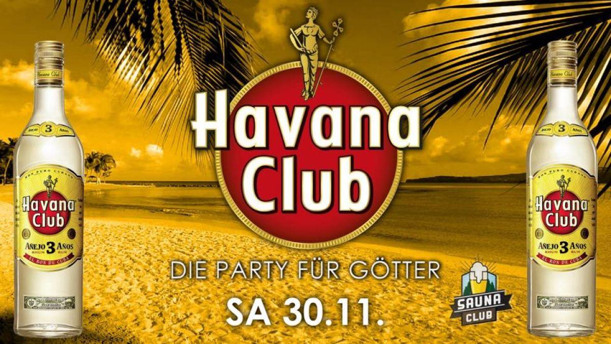 Havana Nacht - die Party für Götter
