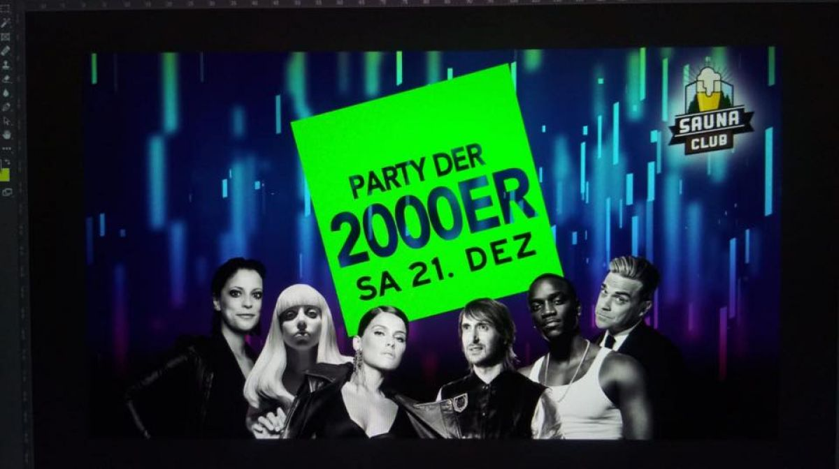Die 2000er Party @Sauna Club