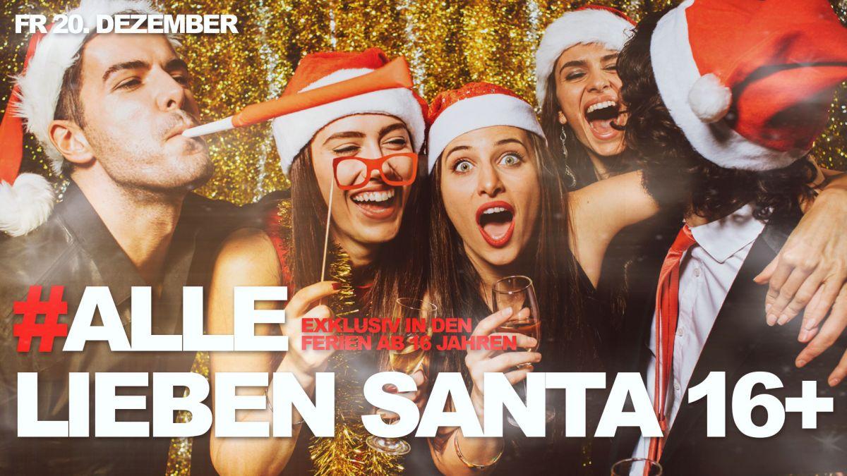 Alle lieben Santa 16+