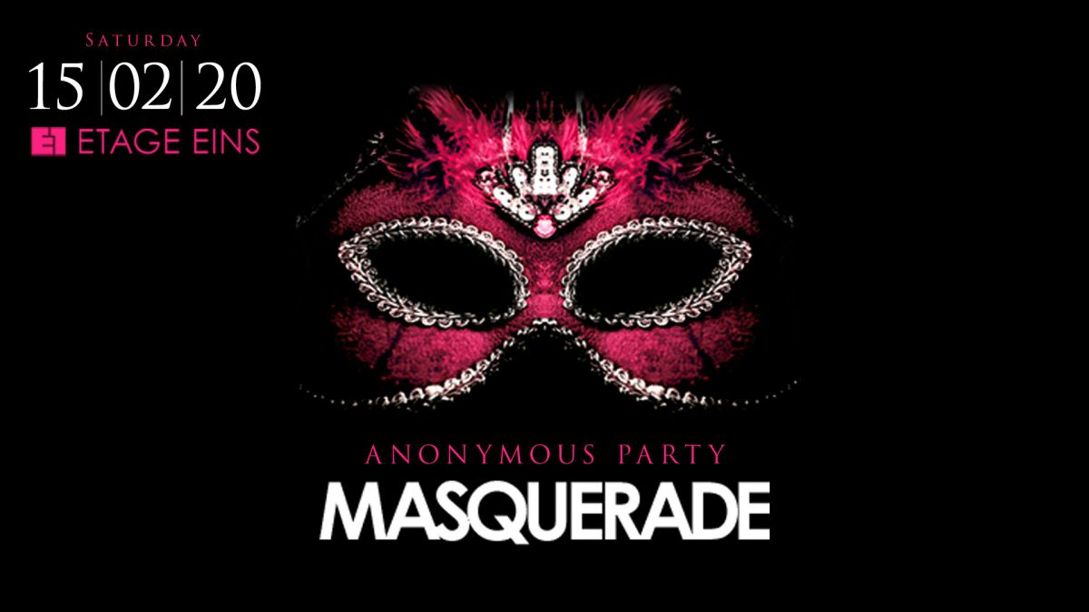 Masquerade - Anonymus Party