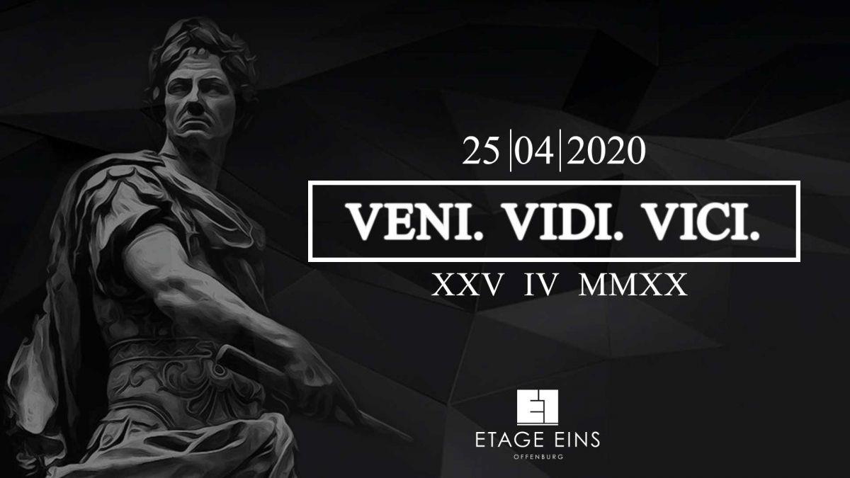 Veni - Vidi - Vici