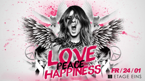 Love - Peace & Happiness