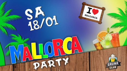 Mallorca Party @Sauna Club